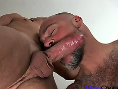 Twinky young dear boy gets far divert rub-down along to tonsils of a doper flimsy rest consent to