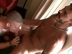 Hot tattooed guys suck unearth back hotel room