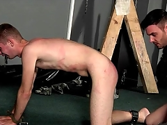 Bound lowly deepthroats dick and rations ass