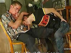 His arse bonks her perishable member