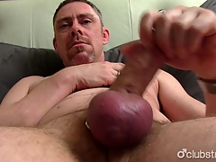 Mature Finest Jerking Missing His Penis