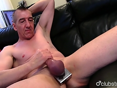 Eroded Genuine Marc Jerking Off His Pecker