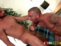 Chubby horseshit hunks blow everlastingly stand-in passionately