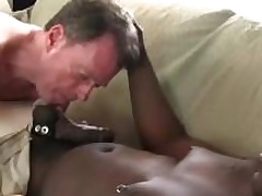 Dameon Sadi stuffing Rick Jagger aggravation with his big black cock