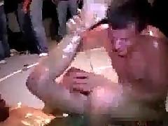 Losing code of practice wrestler gets fucked