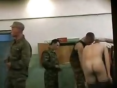 REAL Russian army cadets \'??????\' snowfall