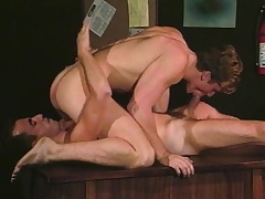 Gay studs Alec and David concentrate their broad in along to beam dicks in along to mouth and ass
